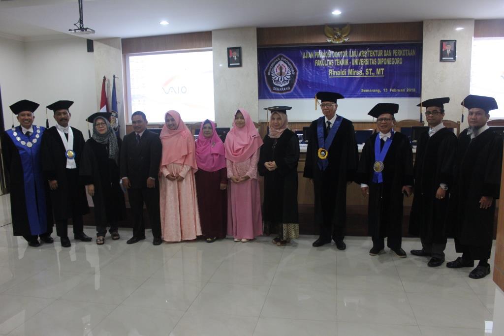 Doktor ke-29 PDIAP, Dosen Arsitektur Unimal Aceh